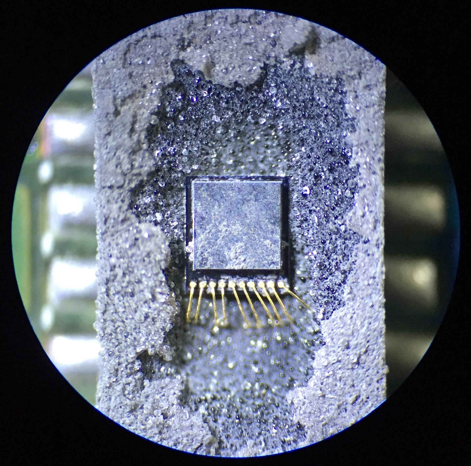 Micro: ADXL345 accelerometer, lid on