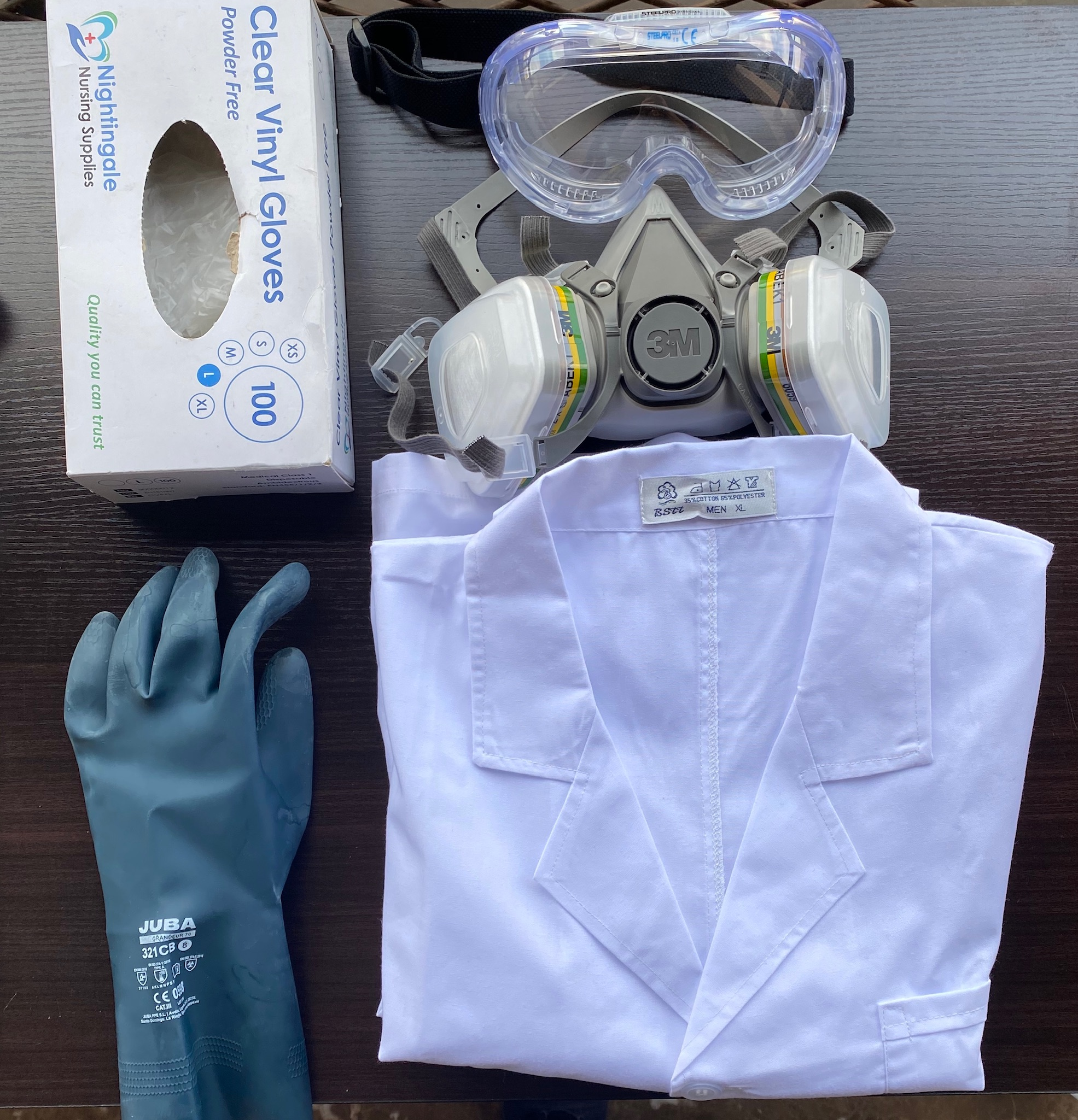 Picture of my PPE